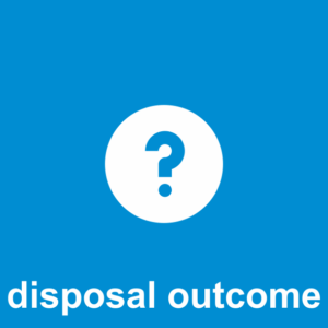 Design Question How 20 disposal outcome