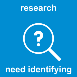 Design Question How 28 research need indentifying